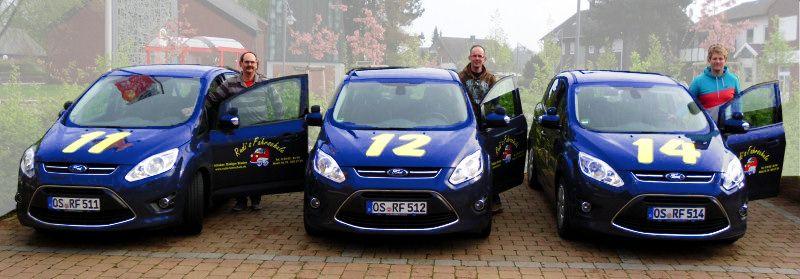 Eure Fahrlehrer Rudi, Volker und Ingo